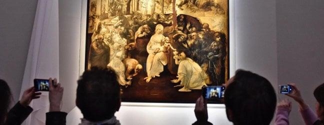 Firenze, restauro record: torna agli Uffizi l'Adorazione dei Magi di Leonardo - foto