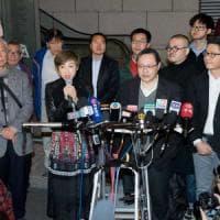 """Occupy HK, nuova sfida dopo gli arresti: """"Per la democrazia accettiamo"""