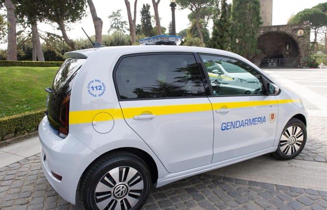 Due e-up! per la Gendarmeria Vaticana