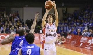 Basket: Reggio Emilia travolge Brescia, posticipo senza storia