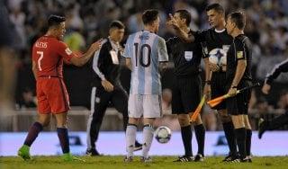 Argentina, insulti all'arbitro: Messi squalificato per quattro gare