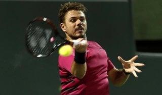 Tennis, Miami: Wawrinka e Goffin agli ottavi. Murray fuori un mese, niente Davis