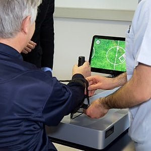 Il fisioterapista è un robot. Made in Italy