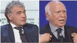"""Pomicino: """"Prendi 42mila euro"""". Giletti: """"E i 5 mld di tangenti?"""""""