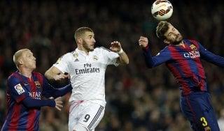 """Barcellona, Piqué a gamba tesa sul Real: """"Non ci andrei mai, muove fili di tutta la Spagna"""""""