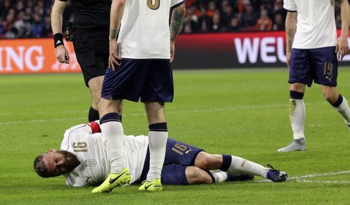 Roma, sospiro di sollievo per De Rossi: niente lesioni, ci sarà nel derby