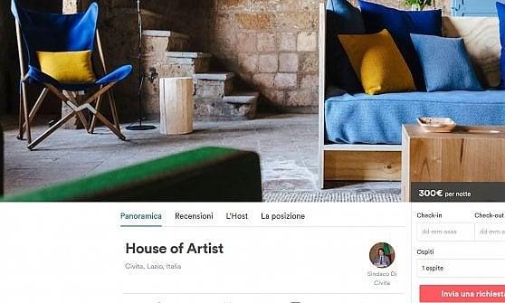 """Un sindaco """"host"""" e una casa d'artista: Airbnb raccoglie la sfida di Civita di Bagnoregio"""