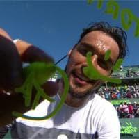 Tennis, la dedica di Fognini a Flavia Pennetta: ''Nina, non torno''