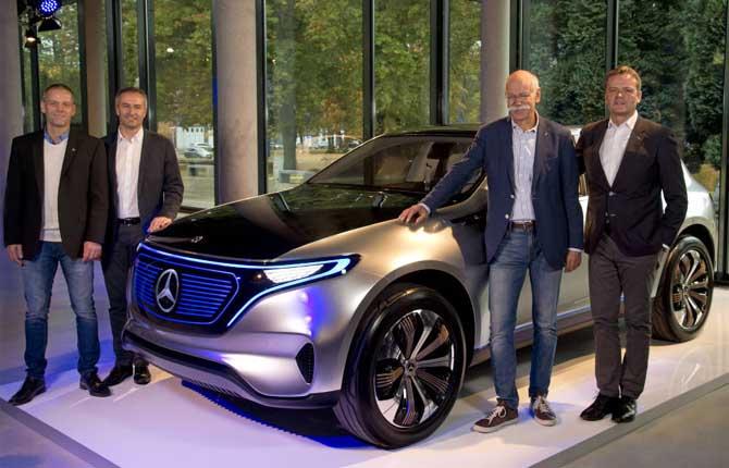 """Offensiva elettrica Mercedes: """"10 modelli entro il 2022"""""""