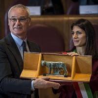 Roma, Ranieri premiato in Campidoglio: