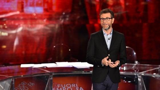 """Fabio Fazio: """"La Rai colpita al cuore dai politici. In questi mesi attacchi mai visti"""""""