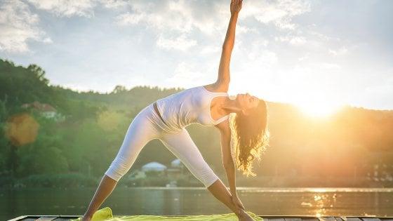 """La """"grande bellezza"""" dello yoga al mattino"""
