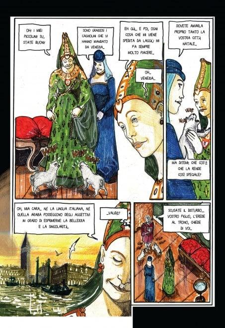 'Orientalia', candidata allo Strega la graphic novel che racconta la magia della Venezia perduta