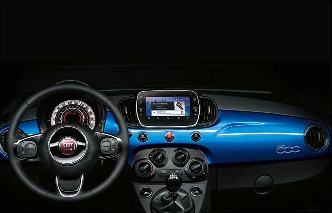 Fiat 500 Mirror, nata all'insegna della connettività