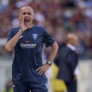 """Empoli, Martusciello: """"La Roma non penserà al derby, voglio una squadra determinata"""""""