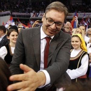 Serbia al voto per le presidenziali: favorito l'europeista Vucic