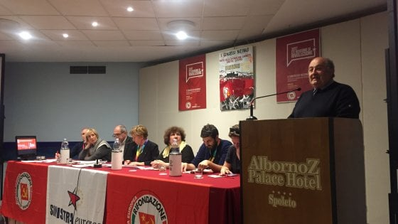 """Rifondazione comunista, il congresso: """"Vogliamo fare la sinistra"""""""