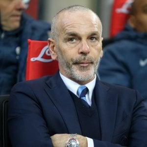 """Inter, Pioli: """"Conte? Le voci non mi infastidiscono, fanno parte del gioco"""""""