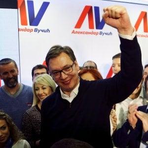 """Presidenziali in Serbia, trionfa Vucic: """"Sconfitti i populisti, avanti con le riforme"""""""