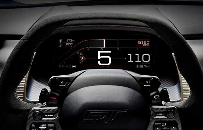 Ford GT,  dalla strada alla pista in 5 mosse