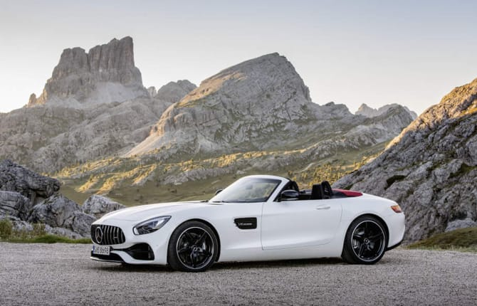 AMG, fascino roadster. Mercedes fa sognare