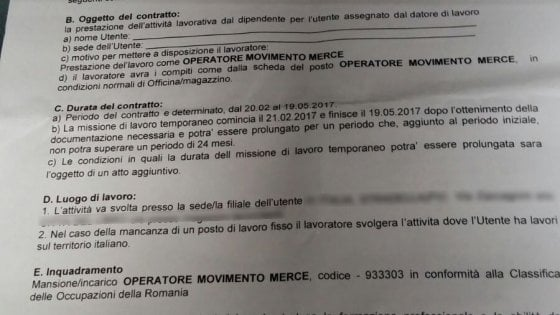 Contratto truffa nell'Oltrepò: per 70 lavoratori italiani paga in moneta romena