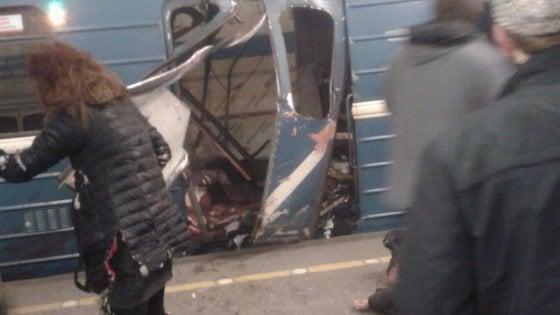 Attentato a San Pietroburgo, il responsabile è un kamikaze kirghiso. Morti salgono a 14