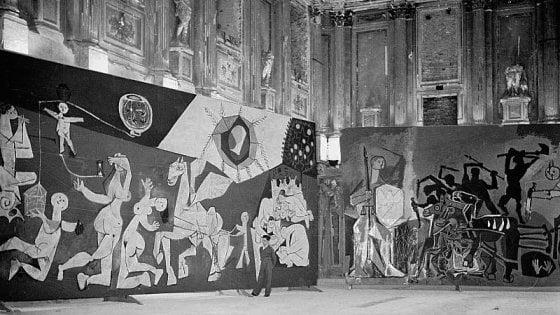 """Quando vidi """"Guernica"""" tra le rovine di Milano"""