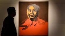 Venduto all'asta il Mao  di  Andy Warhol  per 12,7 mln di dollari