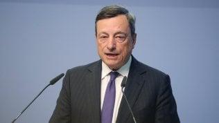 """Draghi: """"Una stretta monetaria ora non è giustificata"""""""