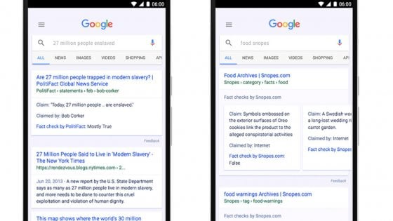 Google: l'etichetta 'fact check' per combattere le fake news