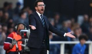"""Sassuolo, Di Francesco: """"Volevo Gomez al posto di Sansone. Futuro? Si vedrà"""""""