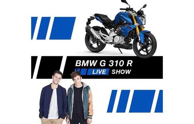 Bmw, le moto diventano social