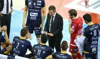 """Volley, Lorenzetti tra Superlega e Coppa Cev: """"Trento, non mollare proprio adesso"""""""