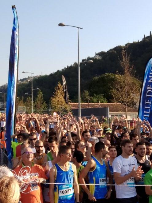 Mezza maratona a Nizza, la prima corsa internazionale dopo l'attentato del 14 luglio