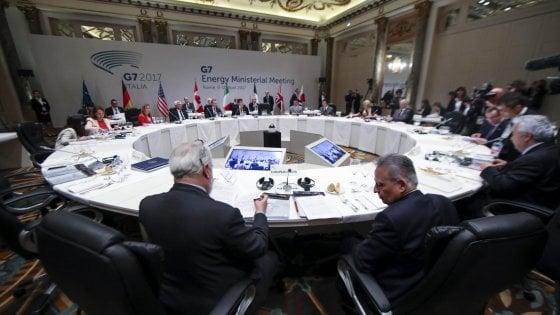 G7 energia: gli Usa frenano, salta la dichiarazione congiunta sul clima