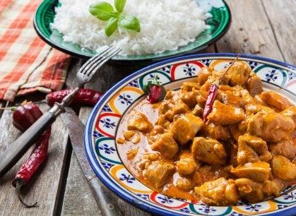 Il segreto del pollo al curry? L'equilibrio (delle spezie)