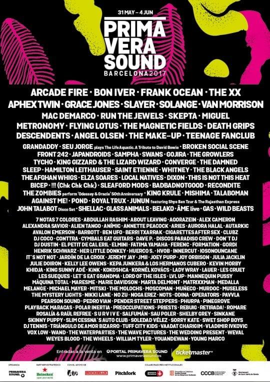 Al Primavera Sound l'elettronica raddoppia