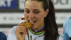 Ciclismo donne, Mondiali su pista: Barbieri oro nello scratch