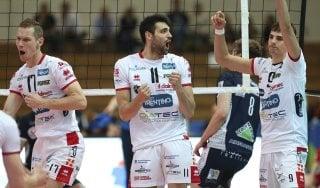Volley, Trento ipoteca la Coppa Cev: Tours travolta nell'andata