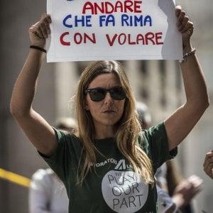 Alitalia ore decisive, verso accordo sul personale di terra