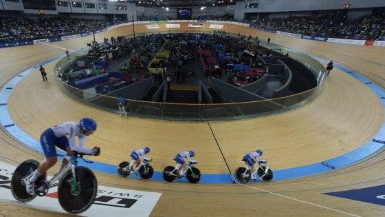 Ciclismo, Mondiali pista: bronzo per l'Italia nell'inseguimento a squadre
