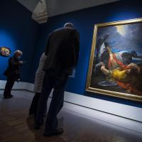 Caravaggio-Bernini: l'allestimento alle Scuderie del Quirinale