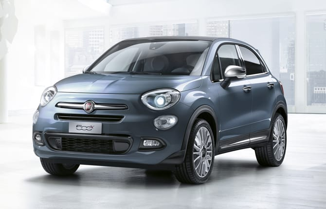 Fiat 500X Easypower, debutto a Gpl