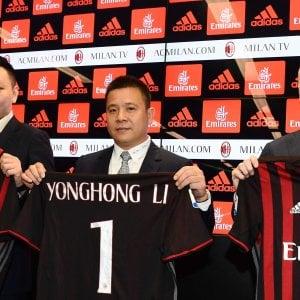 """Milan, la prima volta di Li Yonghong: """"Torneremo al vertice, piena fiducia a Fassone"""""""