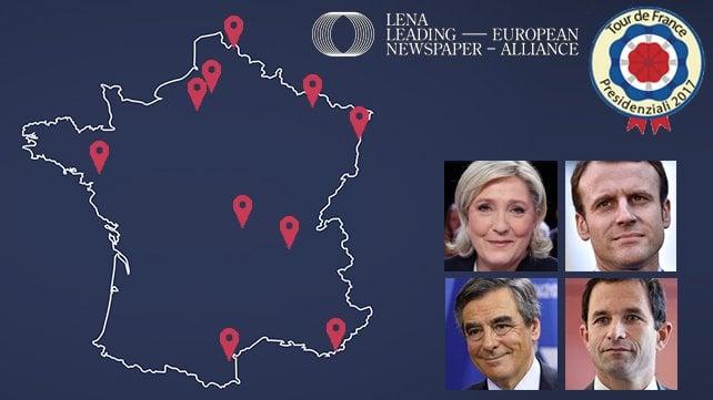 Tour de France: viaggio da Nord a Sud in un Paese alla vigilia delle elezioni