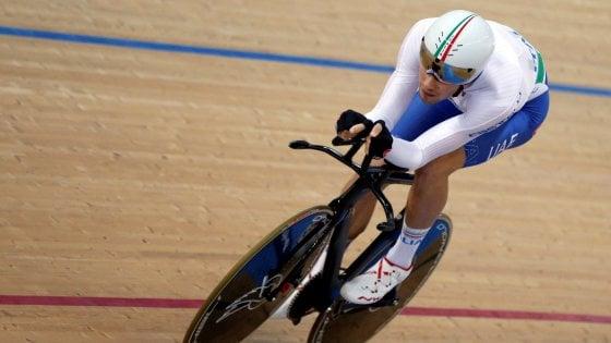 Ciclismo su pista, Mondiali: Ganna non si conferma, è argento nell'inseguimento individuale