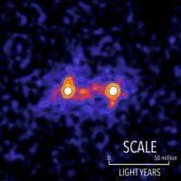 La prima 'immagine' della materia oscura