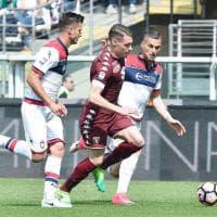 Torino-Crotone, il film della partita