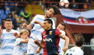 Genoa-Lazio 2-2: emozioni, gol e maxi recupero, il pari è giusto